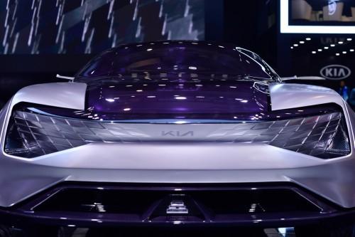 起亚FUTURON概念车全球绘制引未来设计理念怎么首发数码管电路图图片
