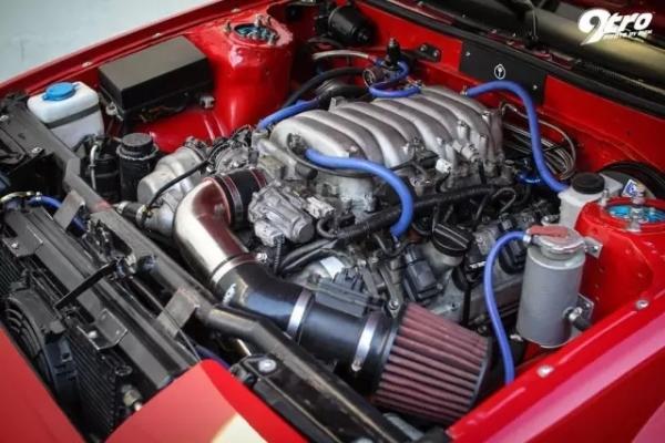 AE86改装V8引擎,大马力宽体后驱车让人猝不及防