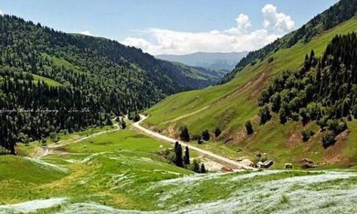 极致温差新疆最美的行车道—独库公路