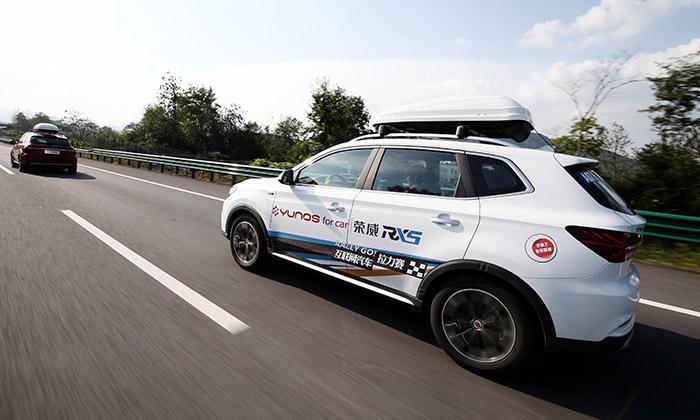 荣威rx5的百公里加同级刹车suv快2秒,百公里同级距离比速比suv短2米荣威i5本田锋范图片
