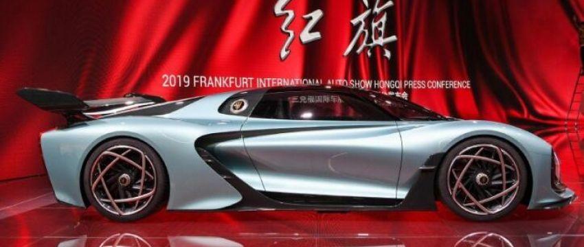 红旗概念超跑S9:百公里加速1.9s,全球限量400台