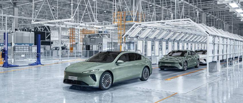 蔚来ET7首批生产试制车下线 量产车将于明年一季度交付/起售价44.8万