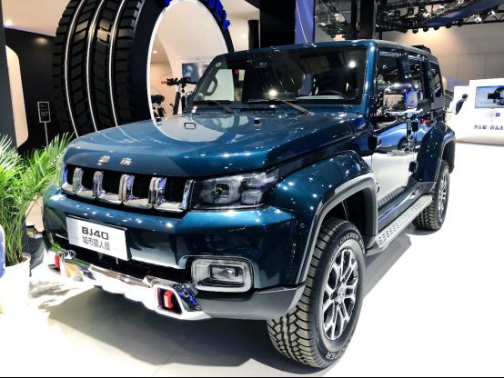 【產品新聞稿配圖】BJ40城市獵人版上海車展1601.png