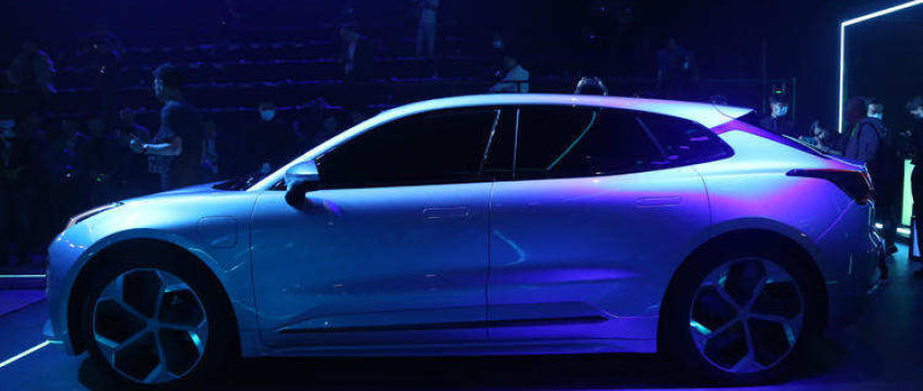越来越近!领克ZERO Concept量产版车型白车身下线